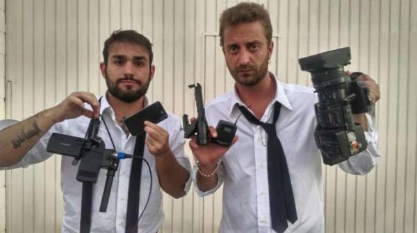 """Le Iene aggredite da Marquez e famiglia: """"Ci hanno distrutto anche le telecamere"""""""