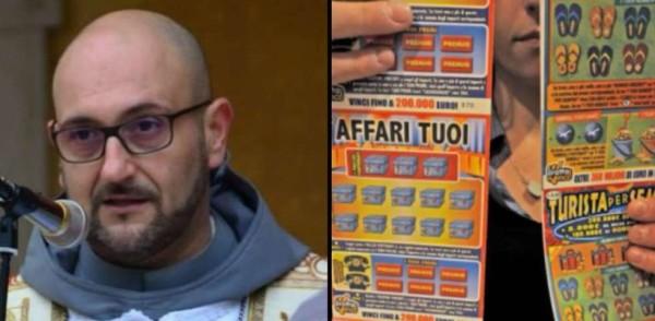 """Brescia, prete chiede ai fedeli di donare 'Gratta e Vinci'. È polemica: """"Istigazione al gioco d'azzardo"""""""