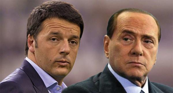 """Berlusconi attacca Renzi: """"Ha pulsioni autoritarie, va fermato"""""""