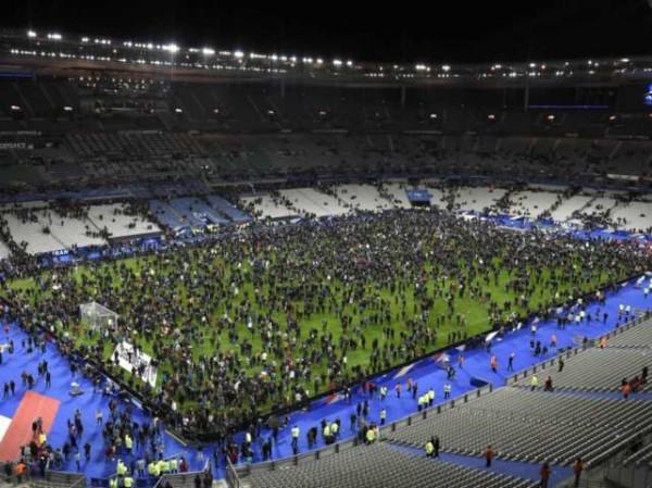 Stade de France, dopo l'attacco kamikaze durante la partita Francia-Germania