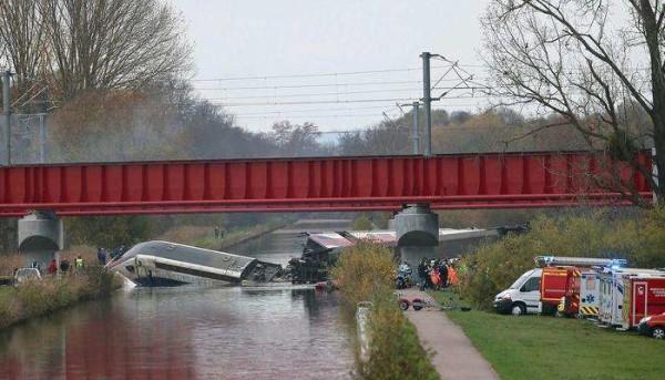 Francia: deraglia Tgv a Strasburgo, 10 morti e 37 feriti