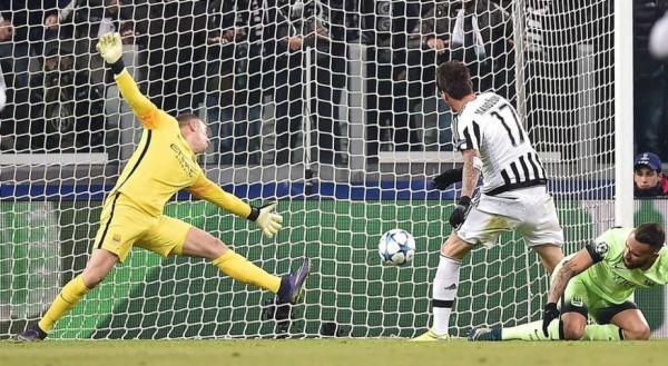 Juventus-Manchester City 1-0, gol