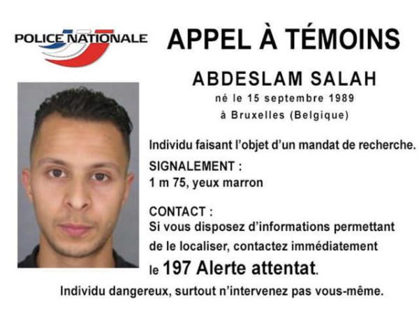 Attentati di Parigi: Salah sarebbe ricercato anche dall'Isis per il mancato martirio