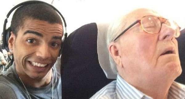 Selfie con Jean-Marie Le Pen mentre dorme: lo scatto rubato costerà caro all'ex di Madonna