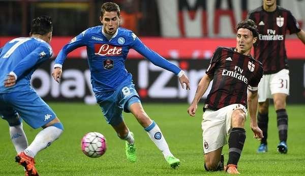 Streaming Napoli-Milan, come vederla in diretta su smartphone, tablet, pc e tv (Serie A 2015-16)