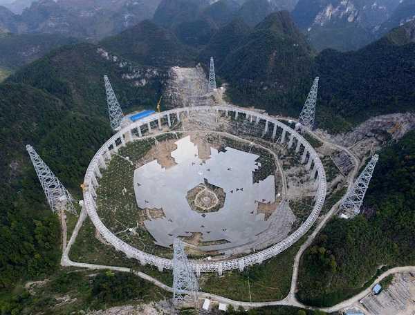 Fast, il più grande radiotelescopio mai progettato prima in grado di intercettare gli alieni