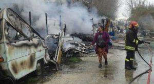 Bologna, incendia il camper con dentro la figlia: arrestato padre di Halilovic