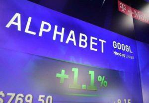 Google Alphabet, ricavi del 21,3% nel periodo aprile-giugno 2016