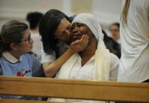 Fermo, vedova di Emmanuel Chidi Nnamdi accusata di falsa testimonianza