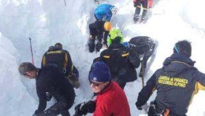 Valle d'Aosta: due valanghe in meno di un'ora. Tre le vittime