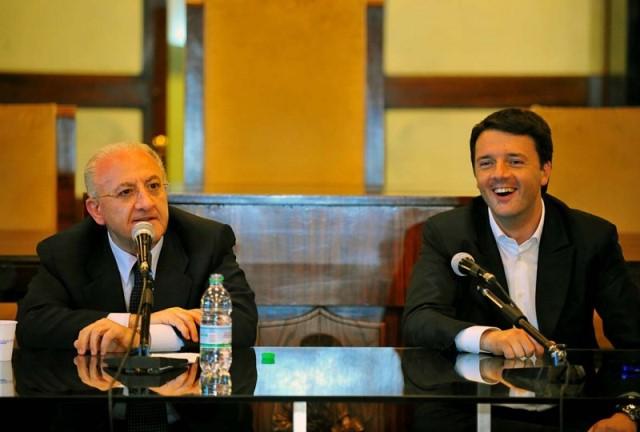 """Renzi sul Governatore De Luca: """"Procederemo con la sospensione"""""""