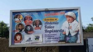 """Sicilia: choc a Catania per il manifesto che annuncia un battesimo """"mafioso"""""""