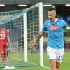 Europa League, ottimo esordio per il Napoli: 5 gol al Bruges. Show Mertens-Callejon
