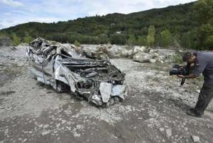 Alluvione a Piacenza, padre e figlio dispersi: trovato il corpo di uno dei due