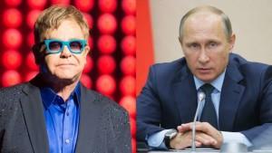 Putin chiama Elton John, e stavolta sul serio! Parleranno dei diritti gay