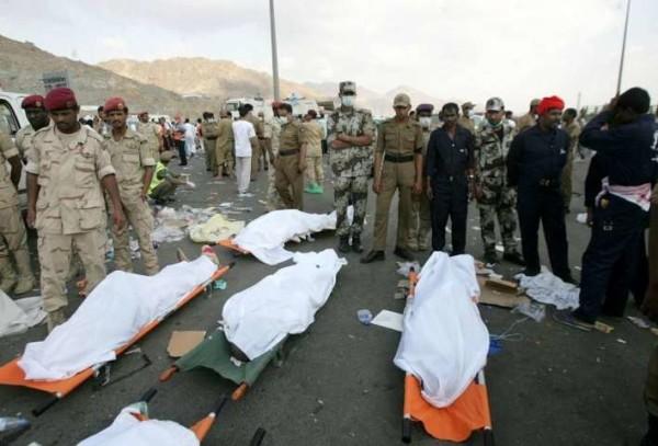 Arabia Saudita: tragedia alla Mecca, 717 pellegrini morti schiacciati nella ressa