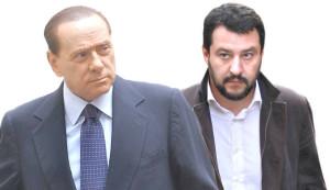 """Lista unica Lega-Forza Italia? Salvini: """"E' possibile, con Silvio si può ragionare"""""""