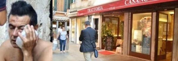 Venezia, turista si lamenta della cottura della bistecca: picchiato dai camerieri