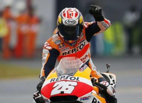 MotoGp, Giappone: sul bagnato vince Pedrosa, Rossi secondo davanti a Lorenzo