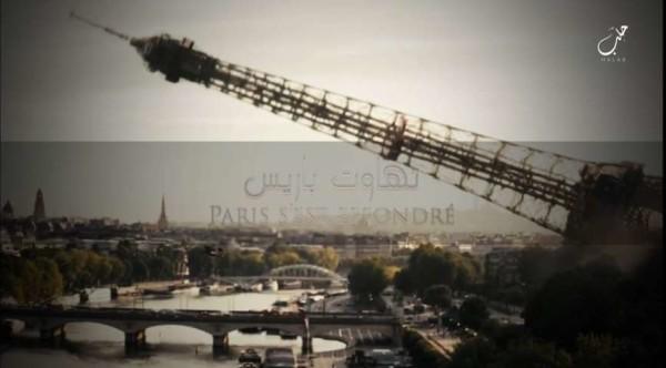 """Isis: """"La Torre Eiffel crollerà"""", in due video nuove minacce di attacchi alla Francia"""