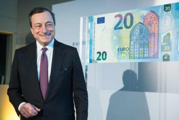 L'Europa lancia la nuova banconota da 20 euro, sarà più difficile da falsificare