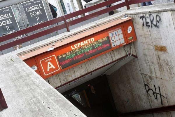 Roma, metropolitana: falso allarme pacco bomba a Lepanto, Torre Gaia e Cornelia