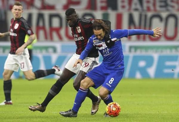 Sampdoria-Milan: canali tv e streaming, formazioni ufficiali e quote (Coppa Italia 2015-16)