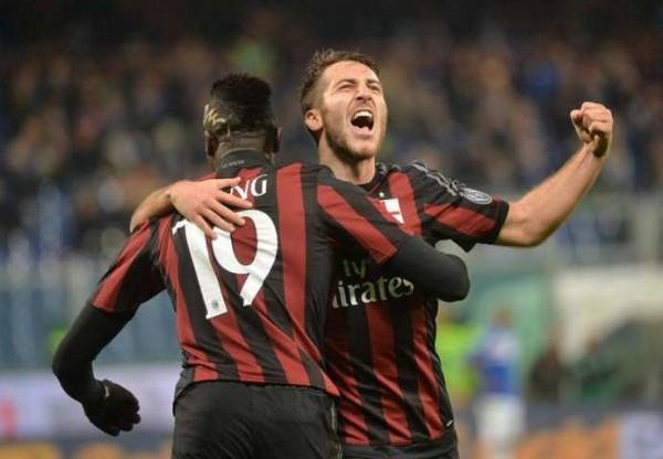 Sampdoria-Milan 0-2, Niang e Bacca salvano la panchina di Miha (Coppa Italia 2015-16)