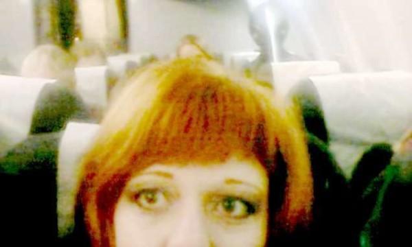 Olesya Podkorytov, selfie con l'alieno