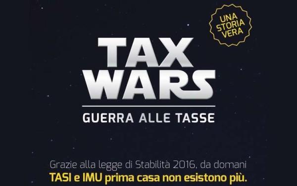 """Renzi lancia la """"Tax Wars"""": """"Oggi funerale dell'Imu, che la forza sia con noi"""""""