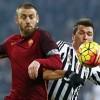 """Juve-Roma, Daniele De Rossi e l'insulto a Mario Mandzukic: """"Stai zitto, zingaro di m..."""""""