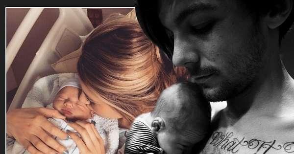 One Direction, Louis Tomlinson è diventato papà: primo scatto social col piccolo Freddie