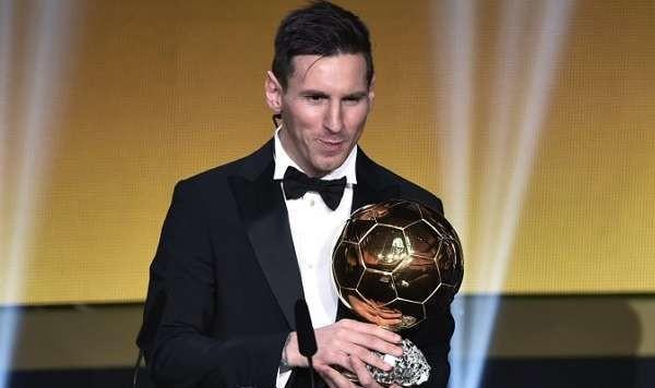 Pallone d'Oro 2015: vince Leo Messi per la quinta volta, gol più bello Wendell Lira