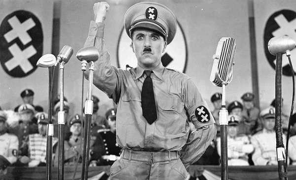 """Charlie Chaplin ritorna al cinema con il """"Il grande dittatore"""" in versione restaurata"""