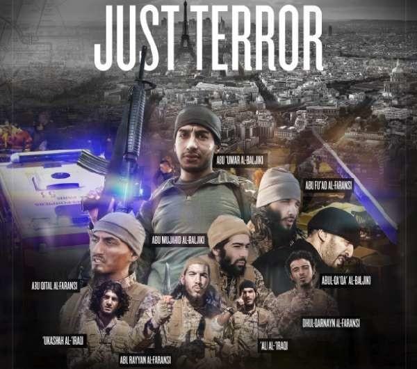 Isis: pubblicato il poster dei nove attentatori di Parigi, confermata la morte di Jihadi John