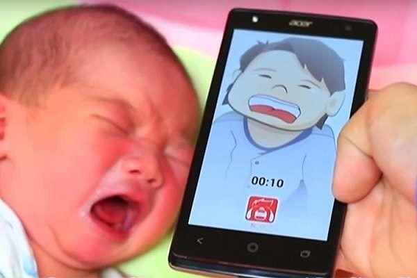 Il pianto dei neonati sarà comprensibile, in arrivo su smartphone l'app che lo traduce
