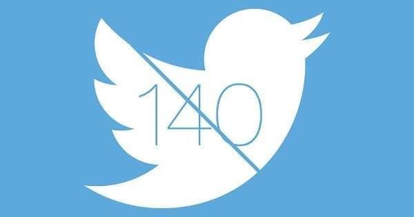 Twitter cambia verso: stop al limite dei caratteri, da 140 diventano 10mila