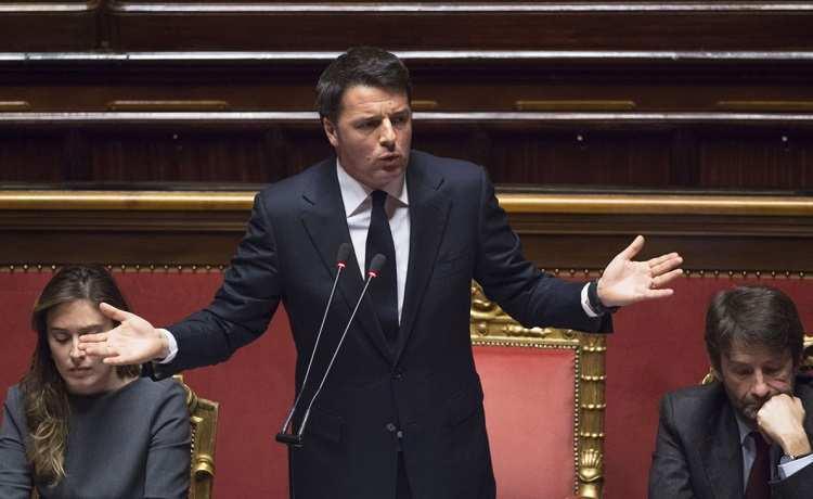 """Unioni civili, premier Renzi: """"No all'utero in affitto, ma adesso si voti"""""""