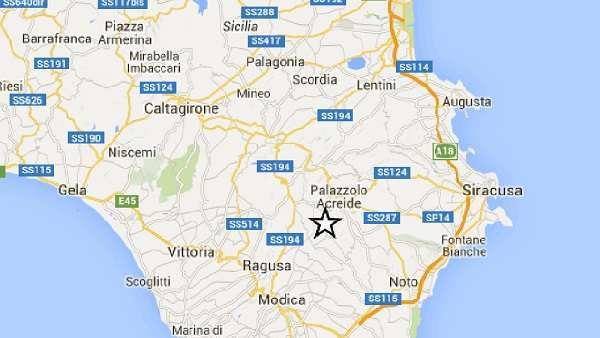 Terremoto: forte scossa semina panico nella Sicilia sud-orientale, epicentro tra Ragusa e Siracusa