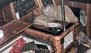 Macabra scoperta su uno yacht, al timone una mummia di un tedesco scomparso nel 2009