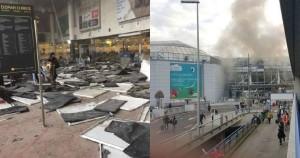 Attentati Isis a Bruxelles, colpiti aeroporto e tre stazioni metro: 34 morti e 10 feriti