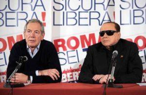 """Roma, Berlusconi conferma il sostegno a Bertolaso: """"Nessuna unità del centrodestra"""""""