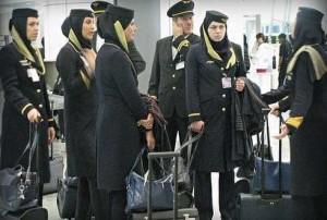Air France: riprendono i voli verso l'Iran con obbligo di velo per le hostess che protestano