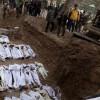 Siria: trovati in una fossa comune 42 corpi decapitati di bambini e donne