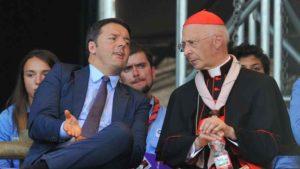"""Unioni civili, cardinale Bagnasco contro Renzi: """"I veri problemi dell'Italia sono altri"""""""