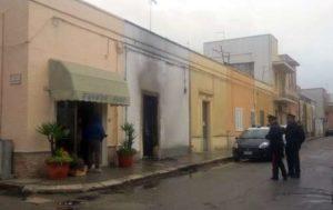 Incendio doloso nella casa natale di Al Bano Carrisi a Cellino San Marco