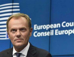 """Ue, Donald Tusk sul Brexit: """"Se Gran Bretagna esce, fine della civiltà occidentale"""""""