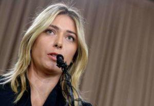 Doping, niente Olimpiadi per Maria Sharapova: sospesa per 2 anni dalla Federtennis