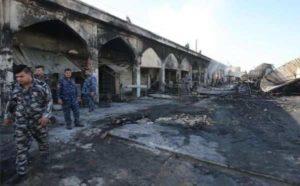 Iraq, attentato Isis: kamikaze colpisce mausoleo sciita. Almeno 35 morti, 60 feriti