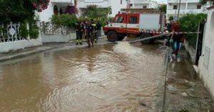 Maltempo: evacuati 225 turisti nel Gargano, sul Gran Sasso neve fuori stagione